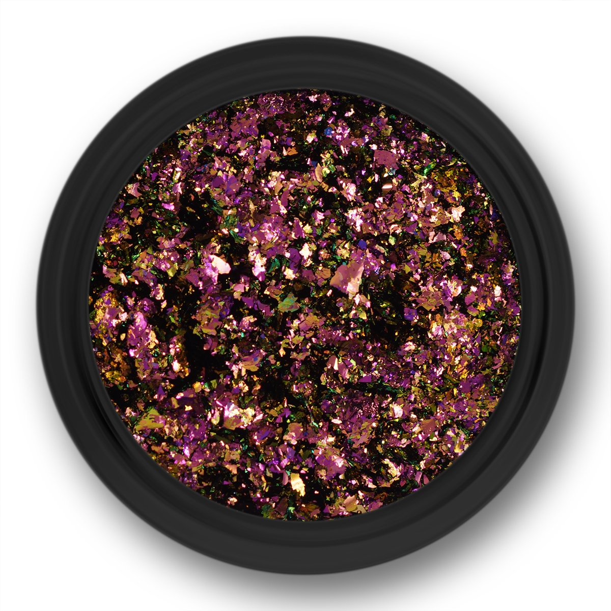 Image of   Chrome Flakes, Guld/Rosa