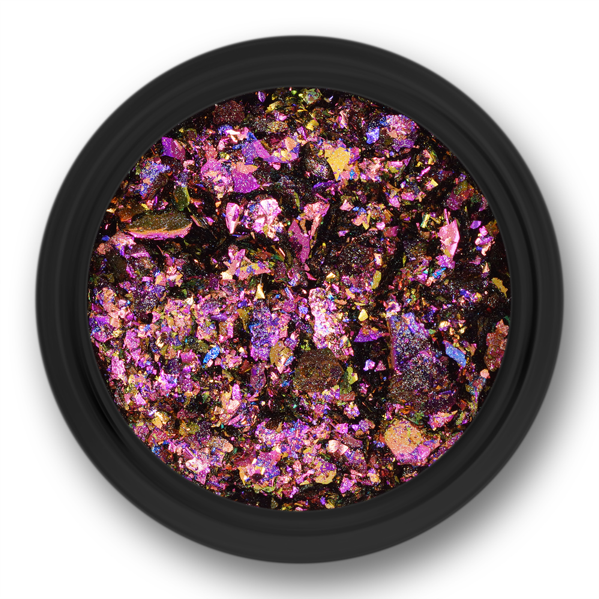 Image of   Chrome Flakes, Pink holo