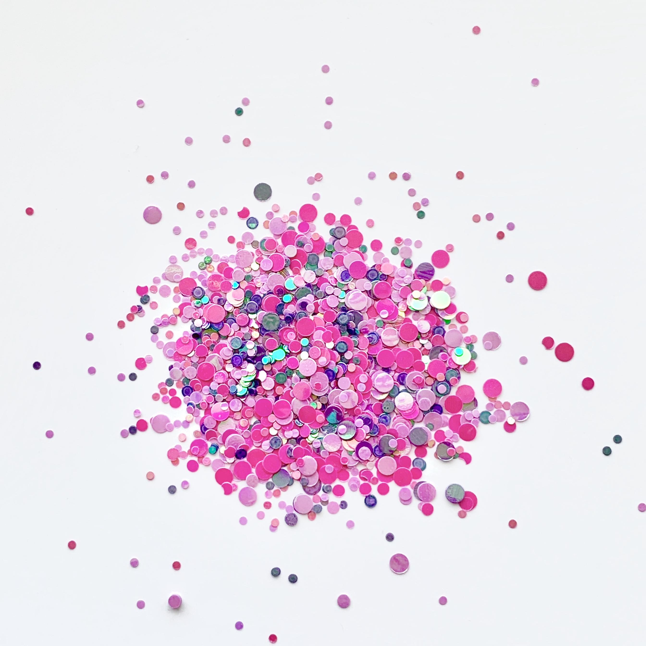 Image of   Chunky Glitter, Kinky Miss pinky