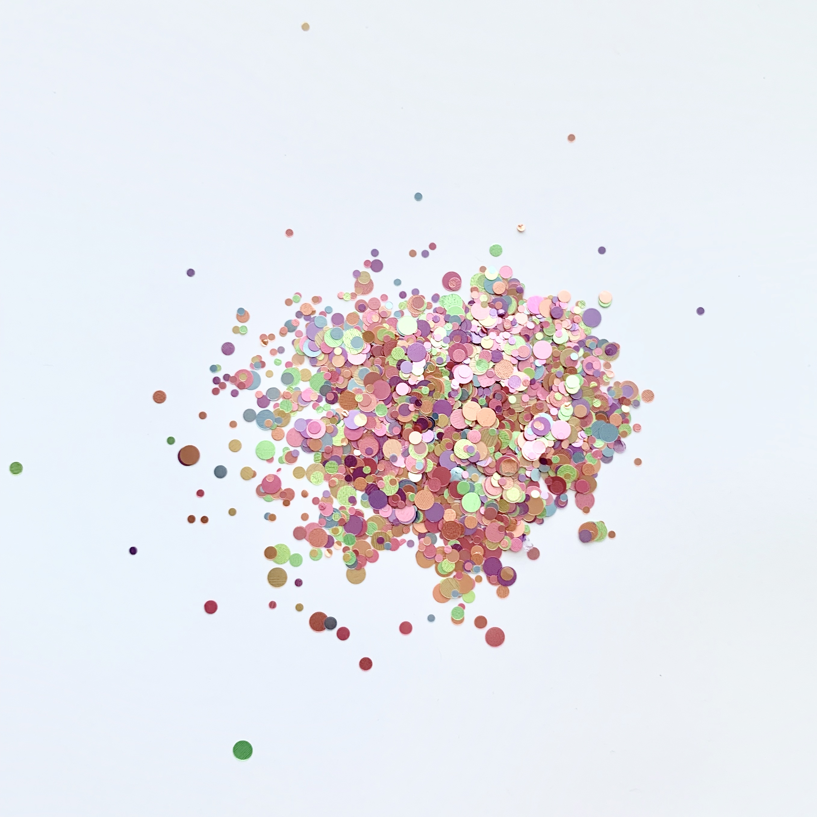 Image of   Chunky Glitter, Pastel Candy mix