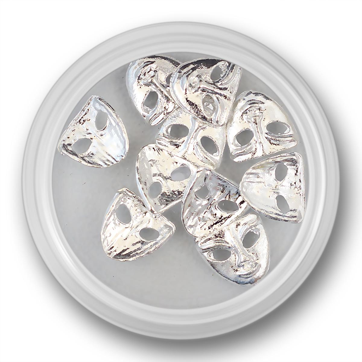 Image of   Masker i sølv, 10 stk.