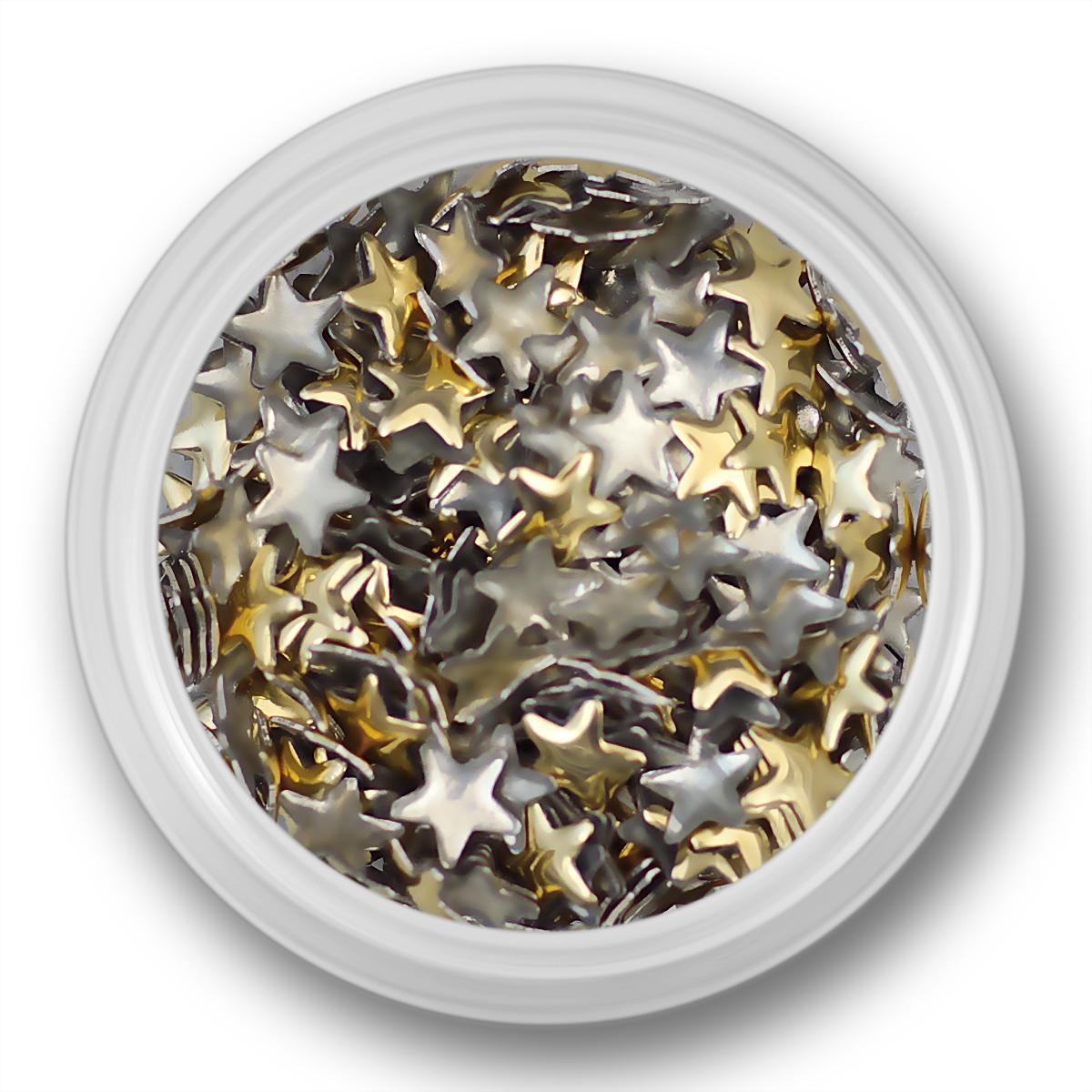 Image of   Guld stjerner, 5mm
