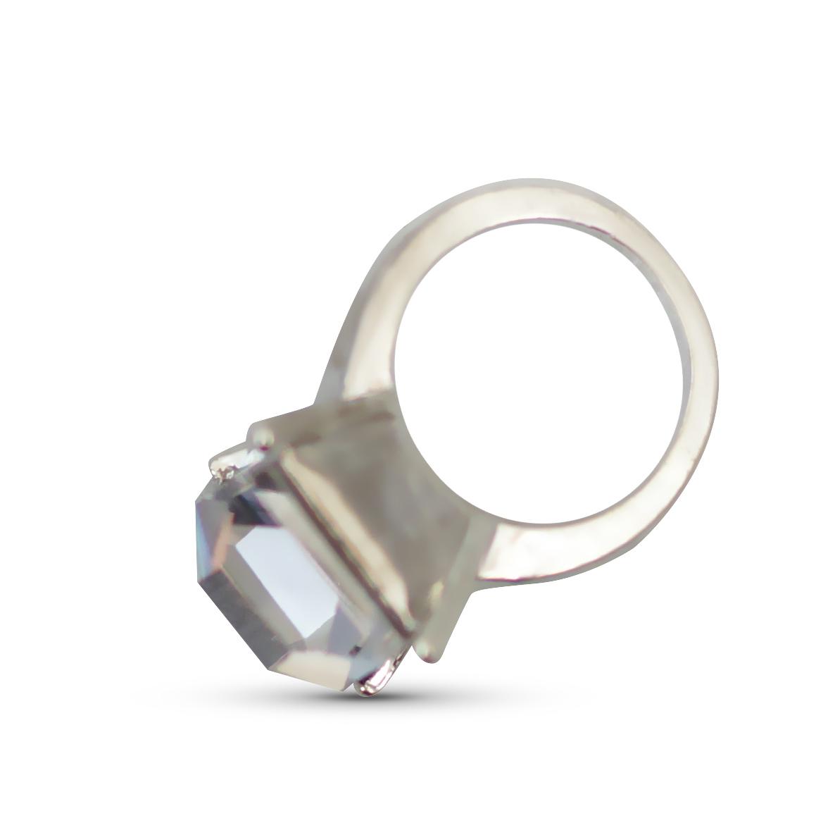 Image of   Negle smykke, hånd med blå sten ,guld, 3 stk