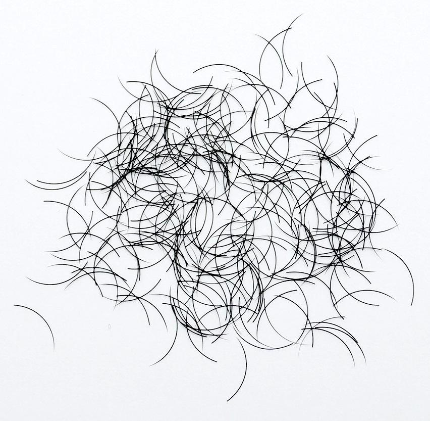 Silke Eyelashes, 1g, ca 1000 stk. J kurve, 12mm, 0,15mm tyk thumbnail