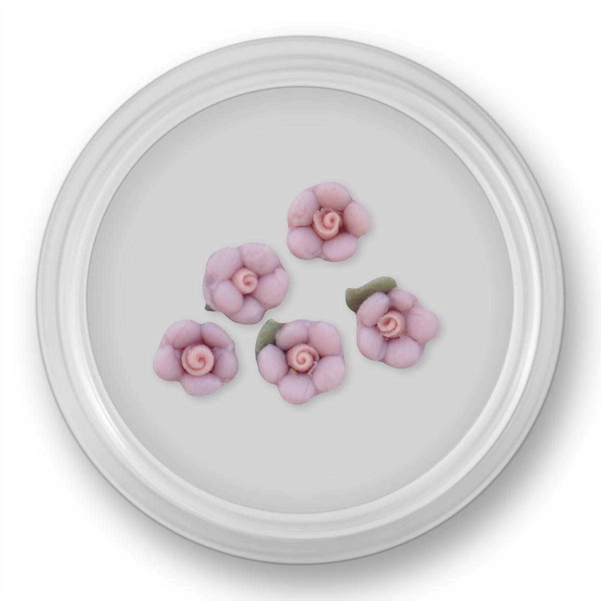 Image of   3D blomst , 5 stk, lilla