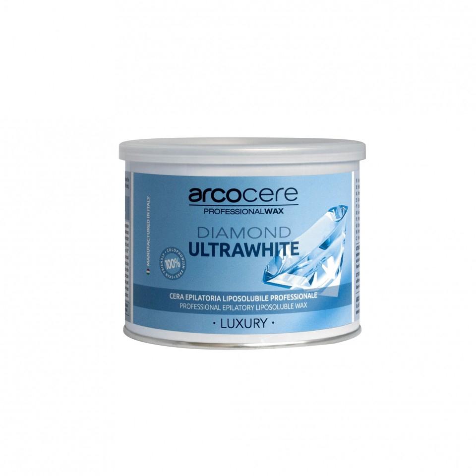 Image of Specialvoks uden harpiks, til mænd og sensitiv hud, White Diamond, 400ml
