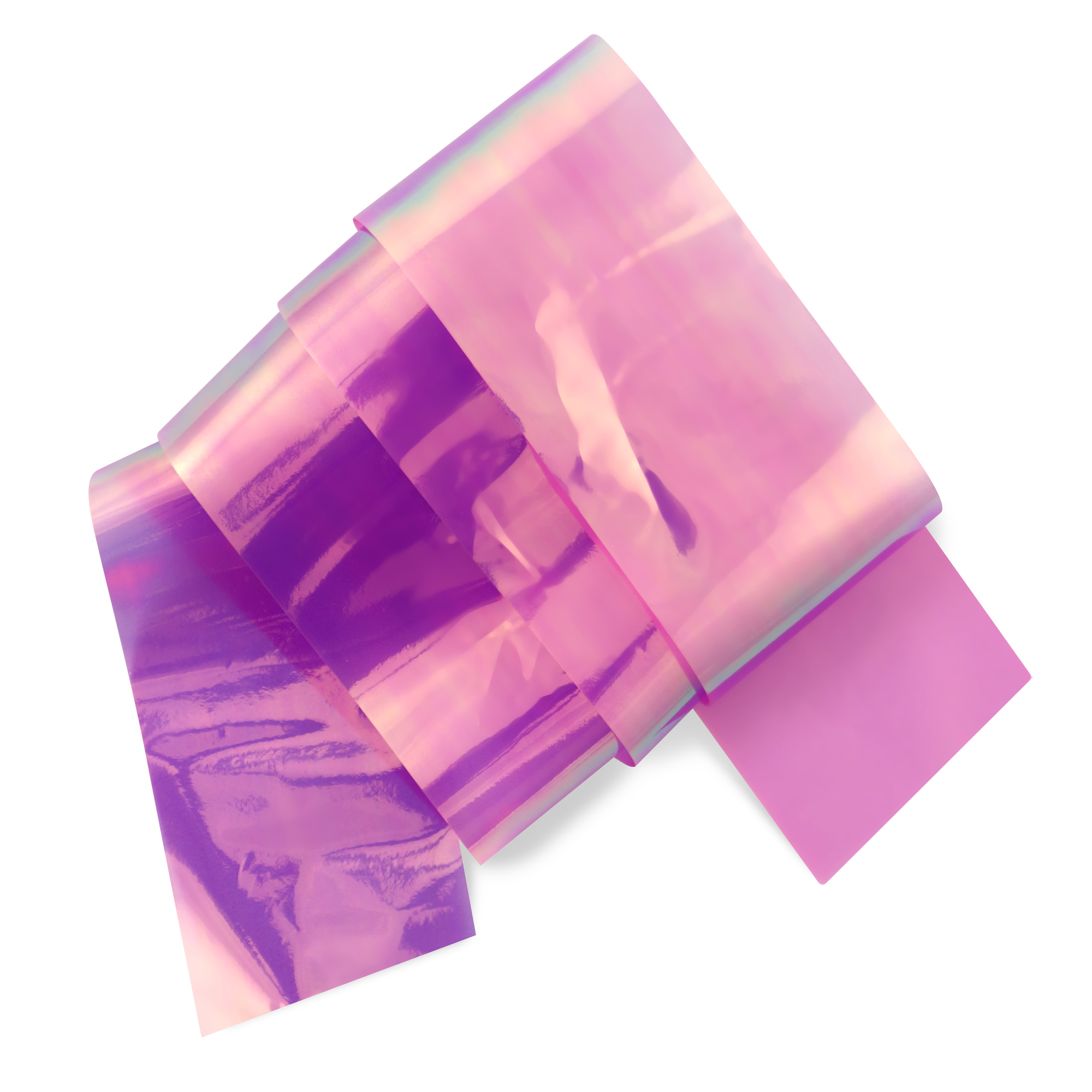 Image of   Glas folie, Purple oil slick