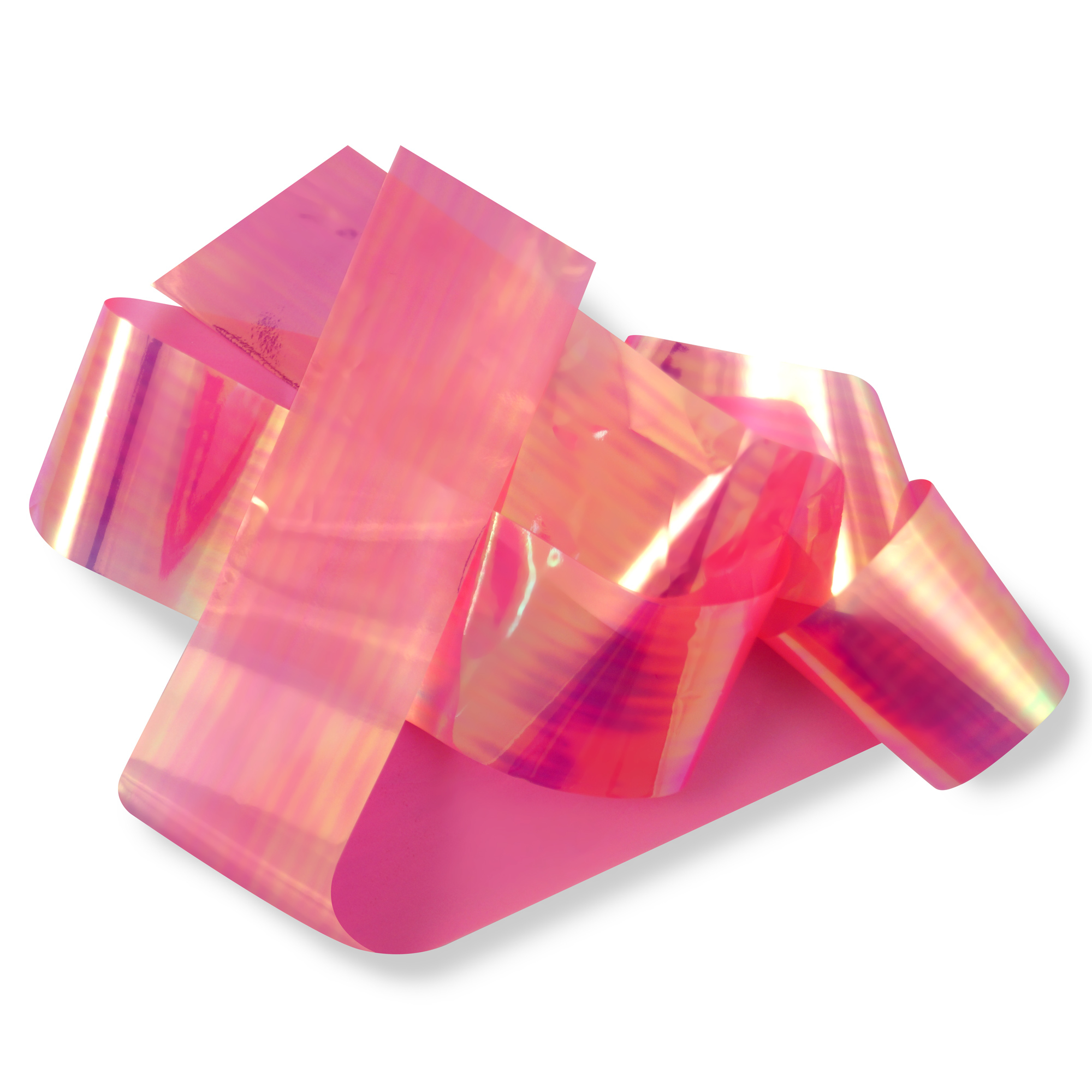 Image of   Glas folie, Pink oil slick
