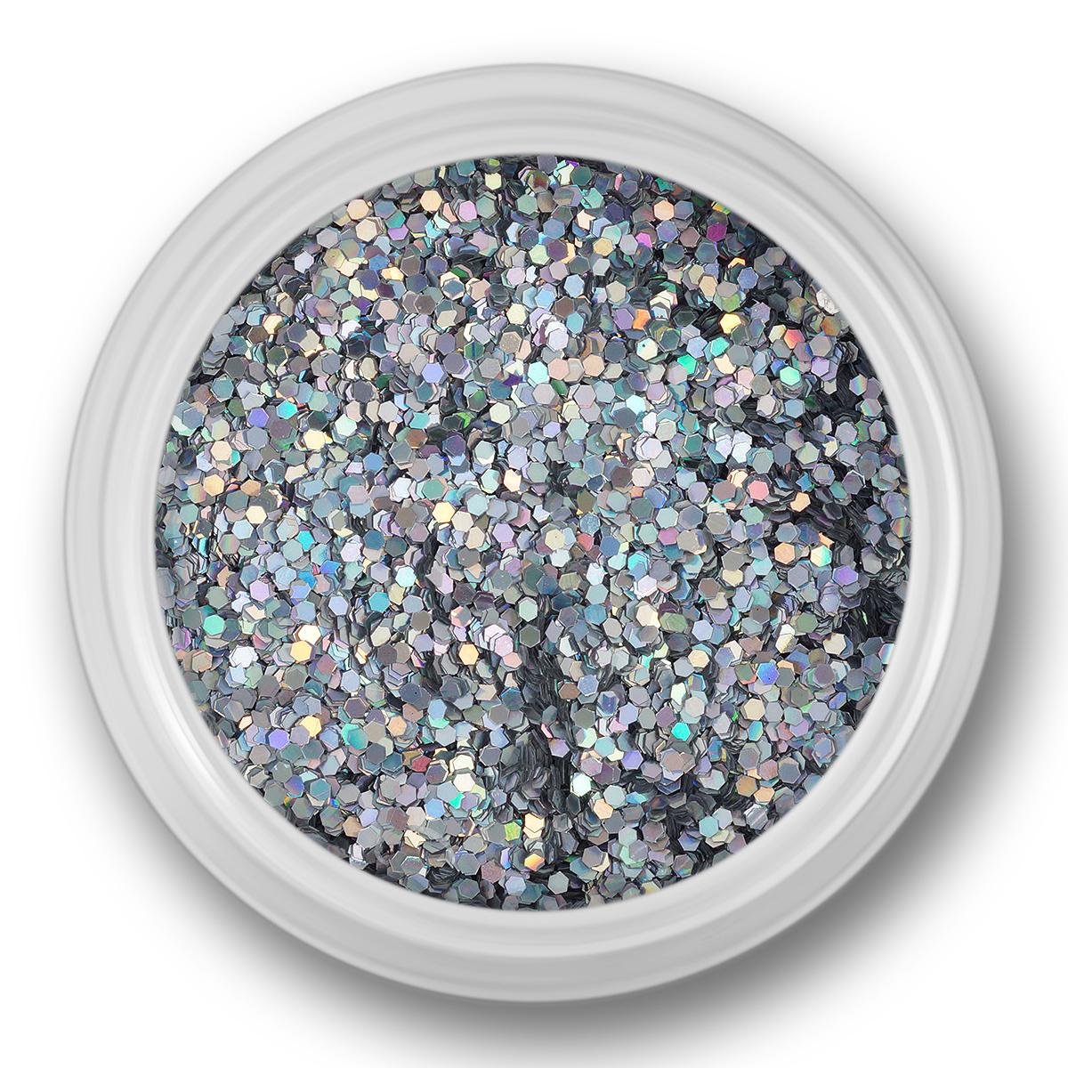 Image of   Glitter Dust, sølv multicolor