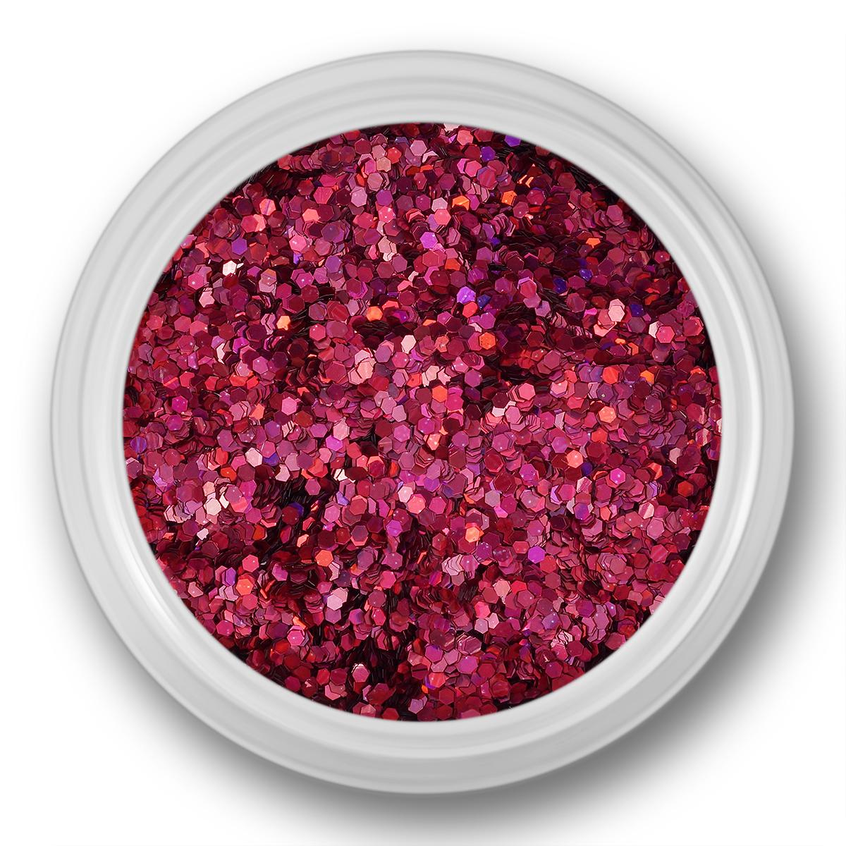 Image of   Glitter Dust, mørk pink