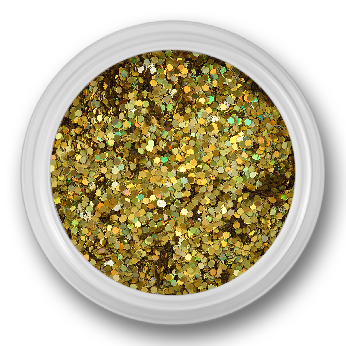 Image of   Glitter Dust, lys guld