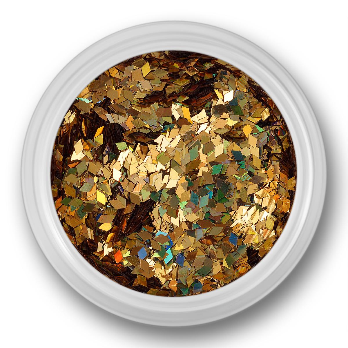 Glitter Dust, rhombe, guldmultifarve thumbnail
