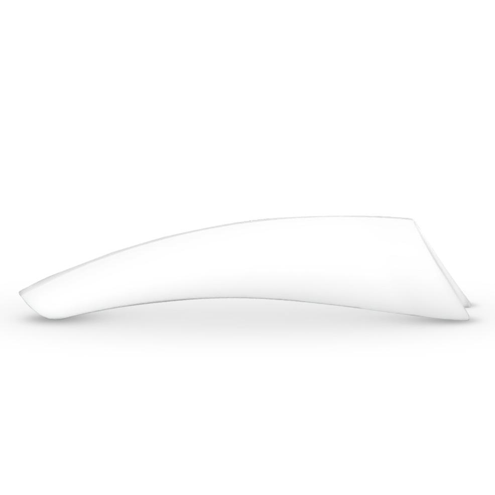 Image of   500 stk tipper Hvid, Kort fals