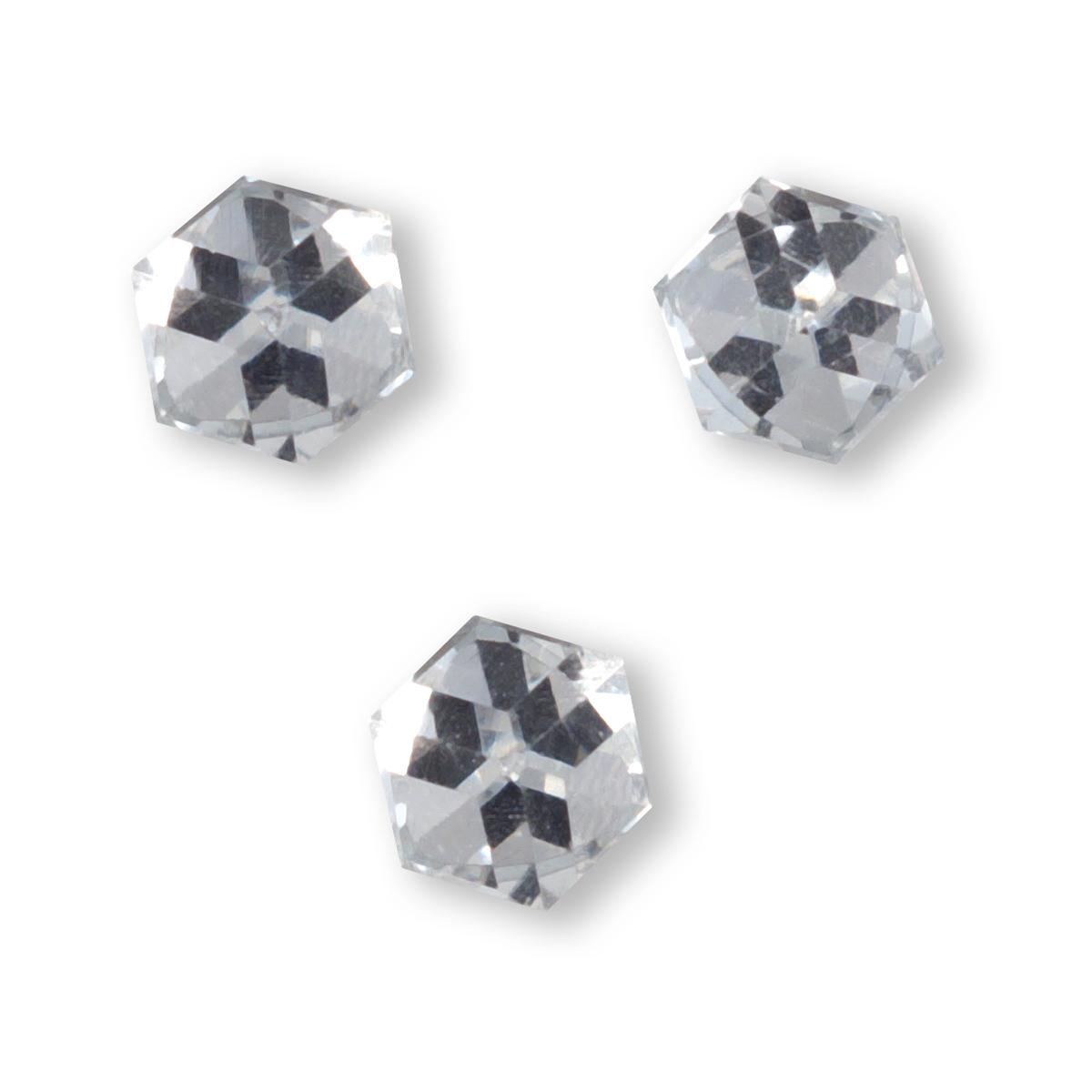 Image of   Kube diamant, klar med effekt, 2 stk.
