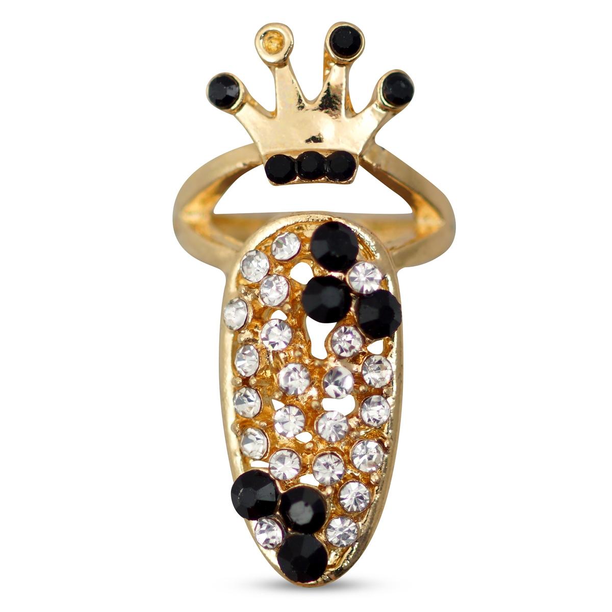 Image of   Ring til negl, guld
