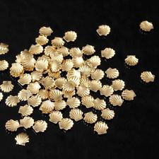 Image of   Muslingeskaller i guld, små 10 stk.