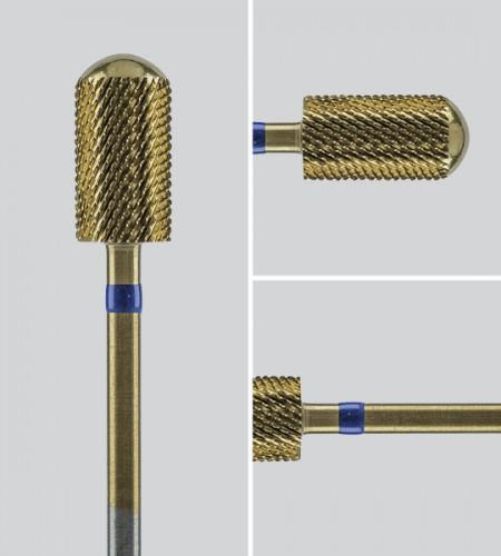 Image of   Cylinderfræser, rundt hoved med titancoating, Grov